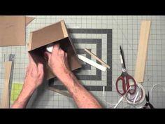Dog House Box & Mini Album Tutorial Video 2 - YouTube