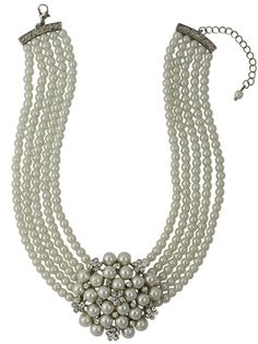 Breakfast at Tiffany's Necklace. Vintage Jewellery inspired by Audrey Hepburn.