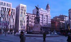 Plaza de España, Zaragoza, Spain