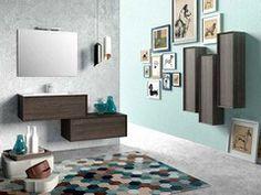 Bagno lilla ~ Brera color colonna rev lilla mobili bagno