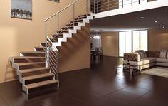 Scale a giorno, scale per interni, scale di legno massiccio, scale a giorno in…