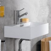 Found it at AllModern - Linea Qaurelo Bathroom Sink Good for of the bathrooms