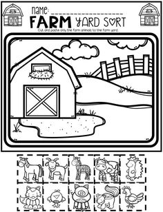 Farm Math and Literacy Worksheets for Preschool is a no prep packet packed full of worksheets and printables to help reinforce and build literacy and math skills in a fun, engaging way. This unit is perfect for the months of March and April. All of the printables are aligned with the early learning standards and encourage independence. This packet is great for centers, homework and homeschooling. There are lots of opportunities for differentiation within.