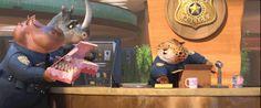 Trailer # 2 do fime Zootopia, do Walt Disney Animation Studio Zootopia Characters, Zootopia Movie, Disney Magic, Disney Pixar, Celine, Chief Bogo, Studio Disney, Fable, Walt Disney Animation Studios
