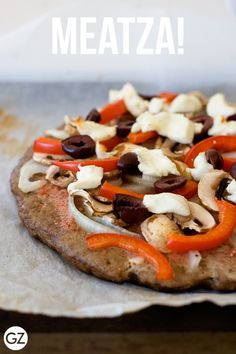 GET ZOMT!: MEATZA! HIGH PROTEIN, LOW CARB, GLUTEN FREE PIZZA {RECIPE}