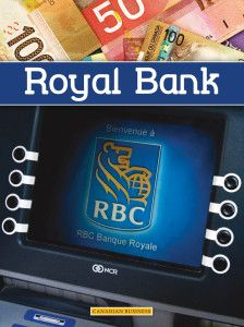 The Royal Bank of Canada is one of Canada's leading banks. The company serves around ten million customers all across Canada through a network of more than 1,200 branches. Part of the Canadian Business series, published by Weigl Publishers, Fall 2013. http://simon-rose.com/royal-bank/