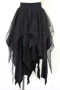 falda con capas