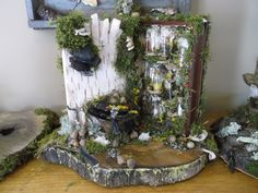 Faerie Apothecarie by Avalon Faire Naturals Fairy Doors, Faeries, Ladder Decor, Whimsical, Rustic, Nature, Inspiration, Fairies, Country Primitive