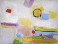 Jane Freilicher, Small Harvest Moon, 1958