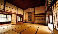 Traditional Japanese house, Tokonoma, Chigai-dana and Jibukuro - Muza-chan