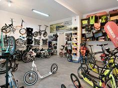 folding bike and footbike shop in Prague