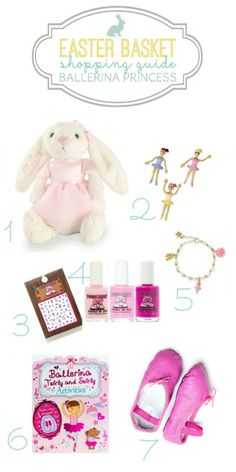 This Easter we've rounded up some pretty finds to help fill your little ballerina princess' basket. Easter Gifts For Kids, Easter Crafts, Easter Baskets, Gift Baskets, Ballerina, Easter Activities, Easter Party, Princess, Basket Ideas