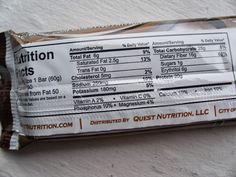 Living, Learning, Eating: Review: Quest NEW Double Chocolate Chunk Bars