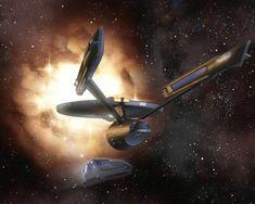 Enterprise and Shuttle Craft