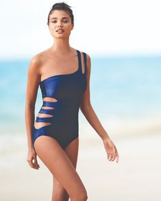 f3d8ae96dd2 Make a Splash this Season with the Hottest Trends in One-Piece Swimsuits at  Dillard s