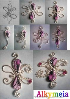 Oh so pretty self explanatory picture tutorial - Click image to find more DIY & Crafts Pinterest pins
