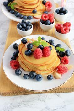 Zapiekane warzywa w marynacie czosnkowo - ziołowej | Tysia Gotuje blog kulinarny Feta, Pancakes, Tasty, Breakfast, Blog, Morning Coffee, Pancake, Blogging, Crepes