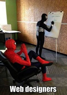 With great power comes great responsibility... #WebDesign