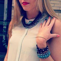 www.chloeandisabel.com/boutique/liz #necklace #bracelets