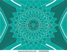 Islamic interior vintage design