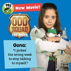 Odd Squad: The Movie debuts Monday, August 1 on PBS KIDS!