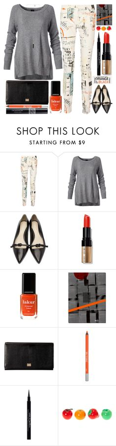 """""""#694Printed Denim"""" by grozdana-v ❤ liked on Polyvore featuring MM6 Maison Margiela, 3.1 Phillip Lim, Bobbi Brown Cosmetics, Londontown, Dot & Bo, Dolce&Gabbana, Urban Decay, Christian Dior, Givenchy and claire's"""