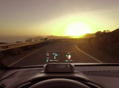 A heads-up display