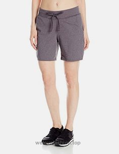 Hanes Women's Jersey Short, Charcoal Heather, Small Soft stretch cotton jersey fabric keeps you comfortable Wide, ribbed waistband with adjustable outer drawcord Roomy side pockets for storage All the comfort of Hanes with our famous tag-free waist inseam Fitness Wear Women, Plus Size Fashion Tips, Shorts Sale, Shorts With Pockets, Athletic Women, Active Wear For Women, Jersey Shorts, Athletic Shorts, Boutique Clothing