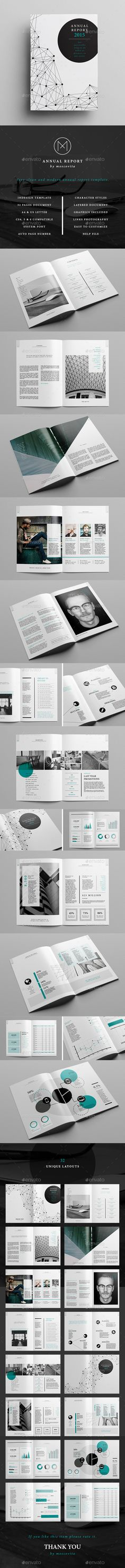 The Annual Report Template is perfect for the publication of a complete and professional annual report. It's divided into a first part with photos and narrative to provide all the interesting information about the company and a second part, contains the financial details with graphics for a visual result. Download: http://graphicriver.net/item/annual-report/11224010?ref=ksioks
