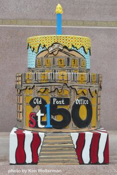 Cakeway to the West - Old Post Office view 1 #cakewaytothewest #stl250