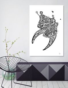 Discover «Bull head», Limited Edition Canvas Print by Ulug Doschan - From $59 - Curioos
