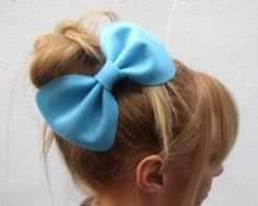 Big Betty Bow // Spring Collection Felt Hair Bow by hellobettybow