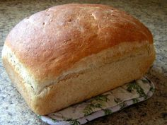 Easy Homemade Bread ~ a fantastic basic recipe.  Butter with a Side of Bread