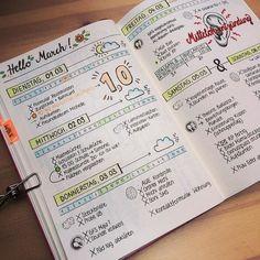 Pinspiration | Bullet Journalling Weekly's | ALice - Arrow Adventures