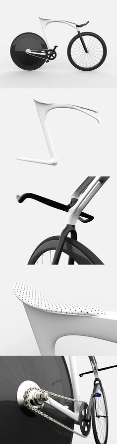 Far-out Fixie... interesting design! #bicycles #cycling