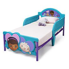 Why waste money getting a crib?...... So much better......Disney Doc McStuffins 3D Toddler Bed