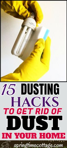 Dust particles can cause serious health problems in our bodies. If we ignore the built-up dust, we are doing more harm to ourselves than good. Here are 15 plus effective ways to reduce dust in our homes so that we can breathe more healthy air. House Cleaning Tips, Diy Cleaning Products, Cleaning Hacks, Home Hacks, Household Tips, Health Problems, Clean House, Bodies, Breathe