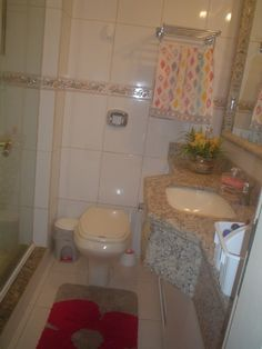 apartamento Praia dos Ingleses  - Banheiro