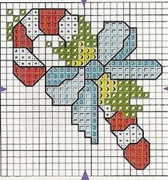 Las chorradikas de Laury: punto de cruz navidad bastoncillo Más