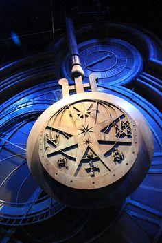 Swinging pendulum of Hogwarts Castle
