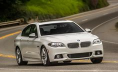 2015 BMW 535d Front on Top 10 Best Gas Mileage Luxury Cars