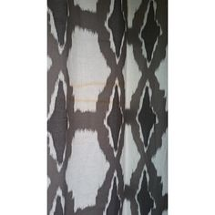 Top Product Reviews for Exclusive Fabrics Sarong Grey Printed Cotton Pole Pocket Curtain Panel - Overstock.com