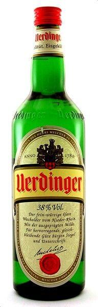 Uerdinger Wacholderbrand / 38% vol (0,7L)