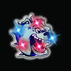 Bulldog Flashing Blinking Light Up Body Lights Pins (25-Pack) by FlashingBlinkyLights, Inc.. $34.79. Bulldog Magnetic Lights are perfect for so many sporting events. Take them out for a baseball, basketball, soccer, football, or even a hockey game. These pieces are sure to fit in whether the level of play is professional, amateur, or strictly recreational. Also, don't forget to take a look at our wonderful assortment of Animal Kingdom Blinkies for all of your favorite styles!