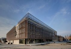 Cultural center 'Het Perron' Ieper - Projects - BURO II & ARCHI+I