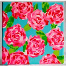 lilly pulitzer art - Google Search