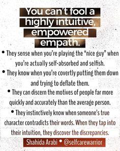 Yep, yep, yep, and yep. Empath Traits, Intuitive Empath, Psychic Empath, Empath Abilities, Highly Sensitive Person, Sensitive People, Infj Personality, Spiritual Awakening, Intuition