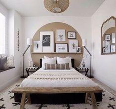 Dream Bedroom, Home Decor Bedroom, Bedroom Wall, Bedroom Windows, Bed Wall, New Room, Home Decor Inspiration, Decor Ideas, Cheap Home Decor