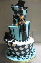 Modern bar mitzvah cake design picture.PNG