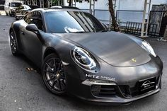 Porsche 991 Black Edition with Armytrix Exhaust   automotive99.com